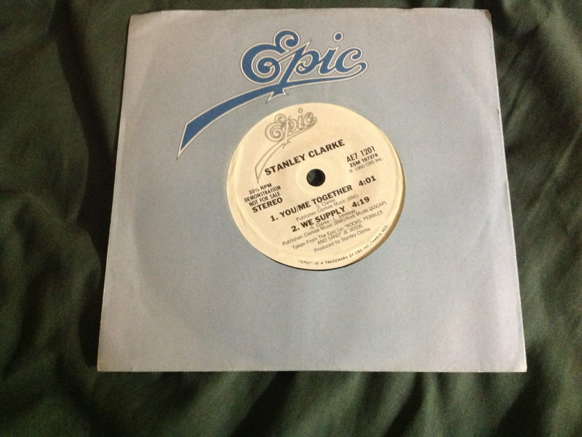 Stanley Clarke - You/Me Together Promo 4 Track Seven Inc EP NM
