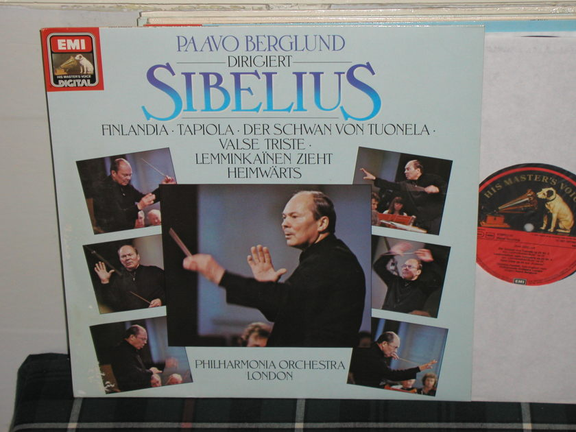 Berglund/POL - Sibelius EMI/Germany HMV LP