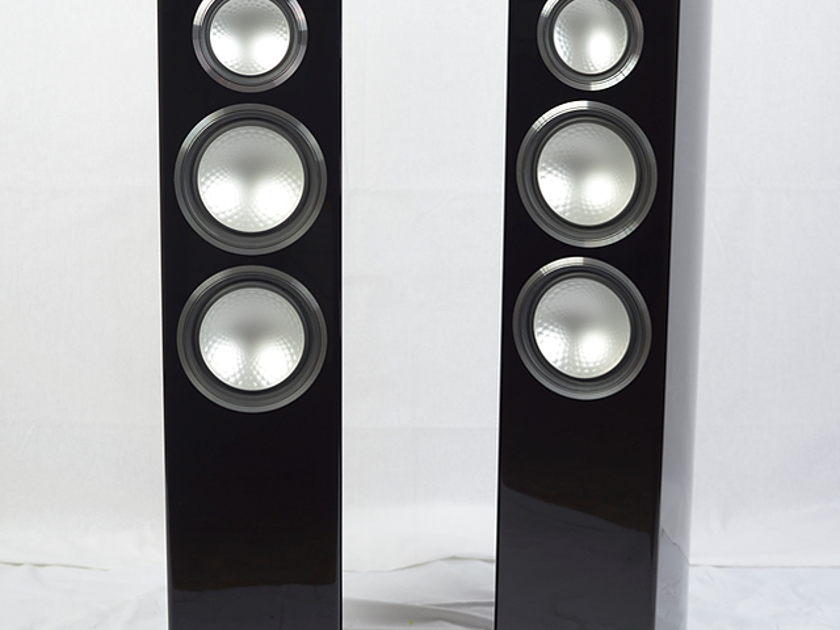 """Monitor Audio Gold 300 Loudspeakers- Piano Gloss Black  """"Recommended Component"""" (Dealer Demos)"""
