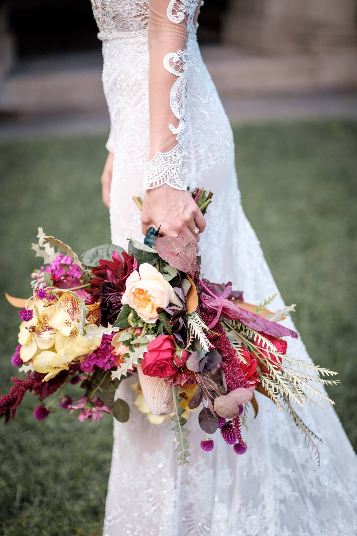 La Luna colorful wedding photographed by Erich Camping