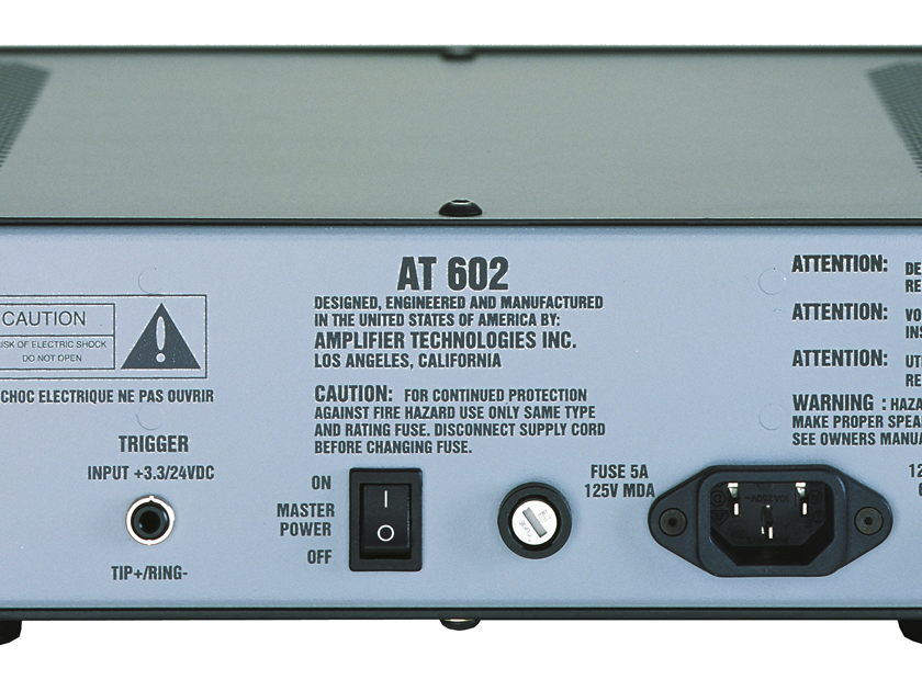 ATI AT602 60W / 2 chs.