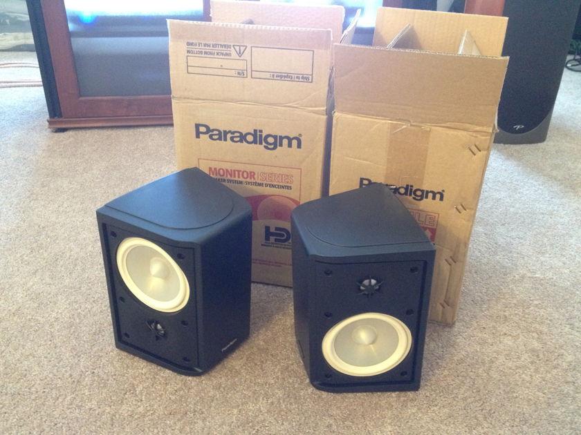Paradigm ADP-190 v6 Black Surround Speakers