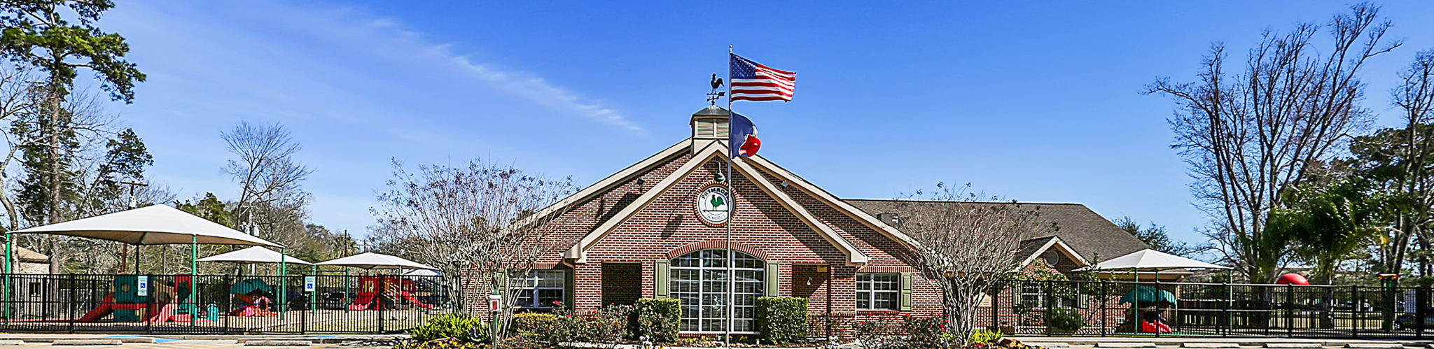 Exterior of a Primrose School of Friendswood