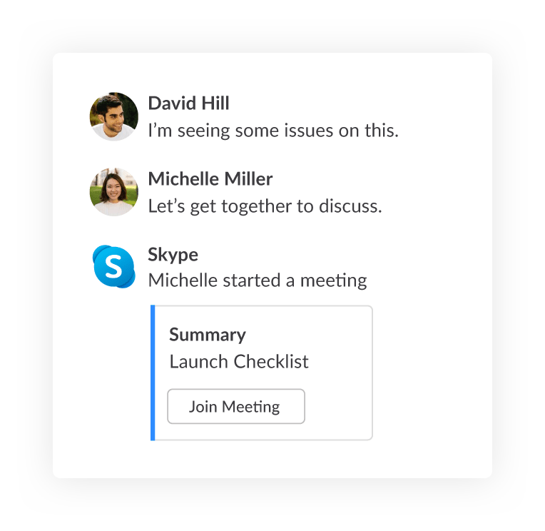 Mattermost with Skype integration