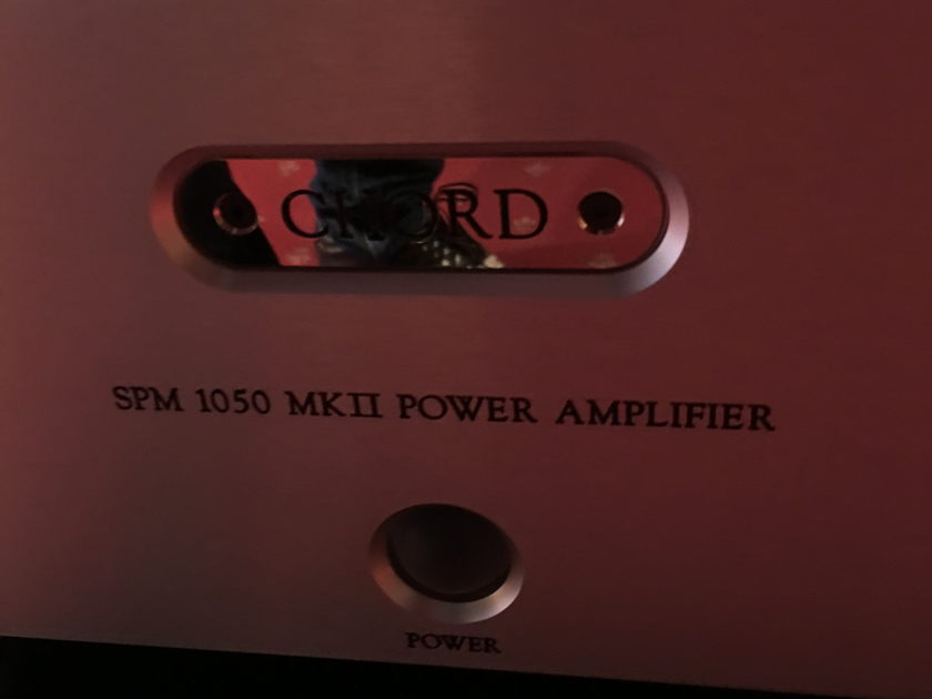 Chord Electronics Ltd. SPM-1050 Power Amp