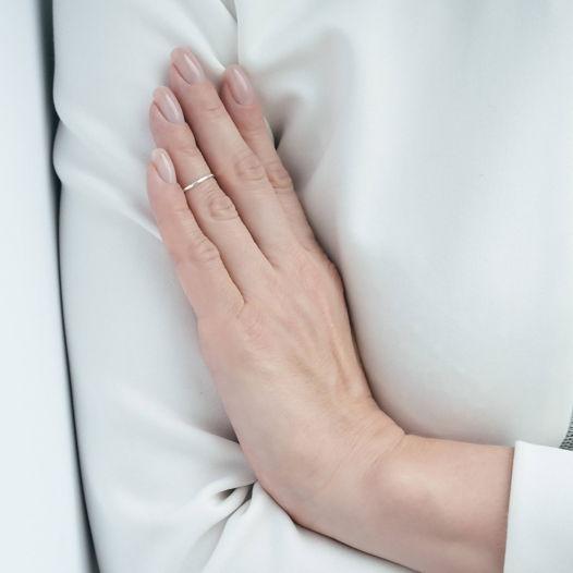 Кольцо на фалангу «Чеканное»