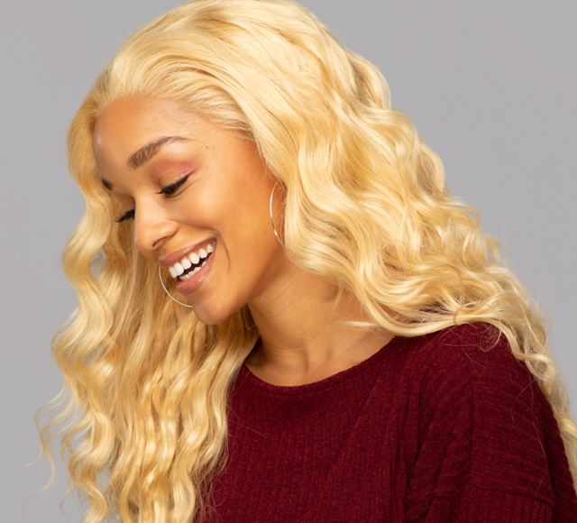 Loose Wave #613 Blonde Frontals Mayvenn