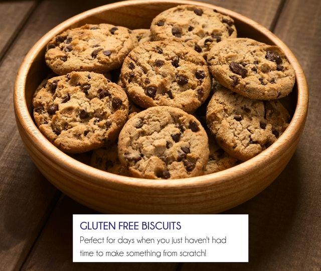 Gluten Free Biscuits - Happy Tummies