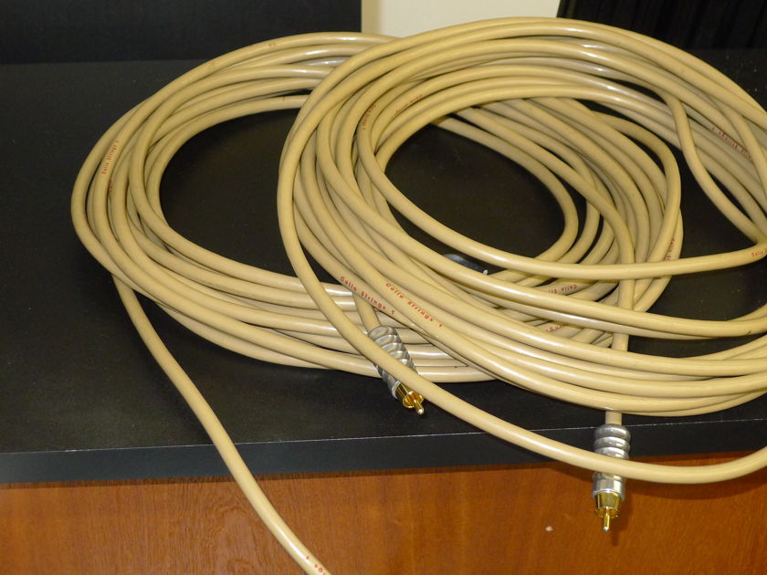 Cello Strings 10M 30FT Interconnects w/ Fischer Connectors near San Francisco...................