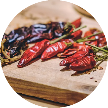 Our sauce is based on Korean chili paste, gochujang.