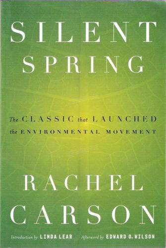 Silent Spring by Rachel Carson book cover