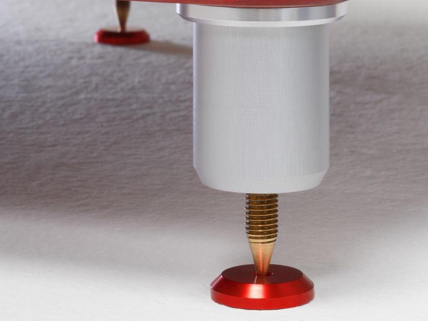 Gregitek Floor Disks - Spike Plates in Red or Silver