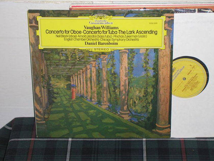 Zukerman/Barenboim - Williams Cto 4 Oboe DG/German import