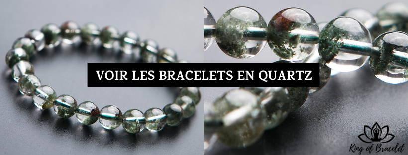 Bracelet Quartz Fantôme Vert - King of Bracelet