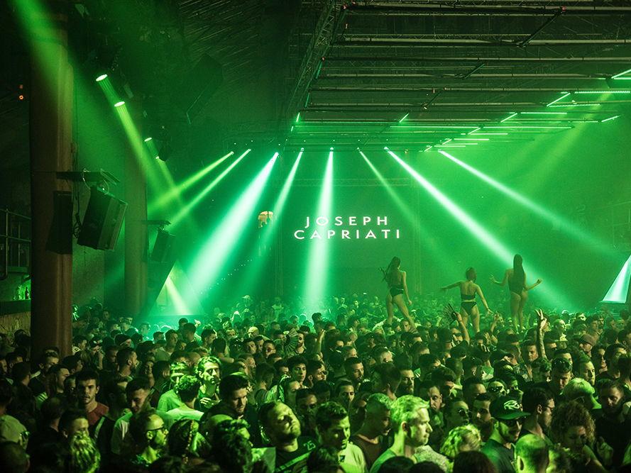 Joseph Capriaty Dyinamic special party amnesia Ibiza