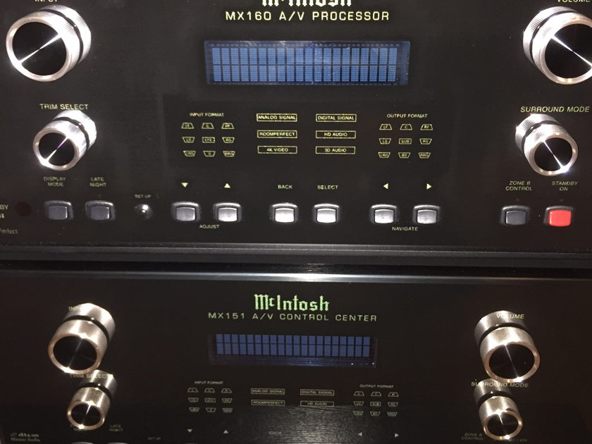 Mcintosh  MX-151  Home Theater Processor