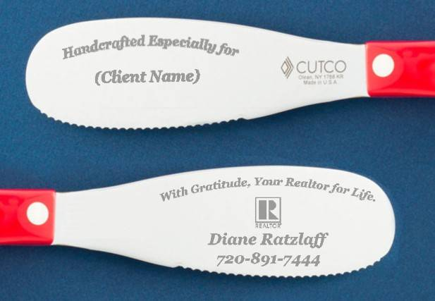 Long lasting personalized closing gift or client gift