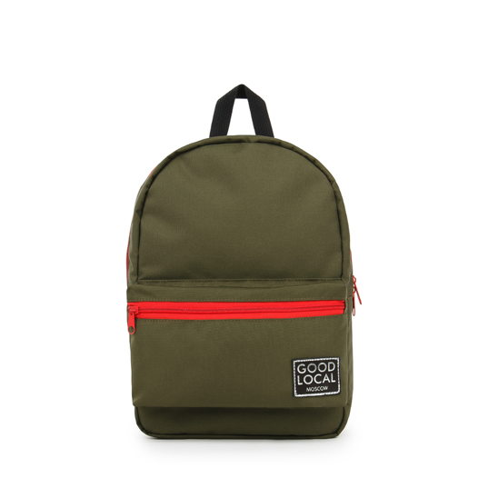 Детский рюкзак GOOD LOCAL Daypack O/Zip XS Khaki/Red