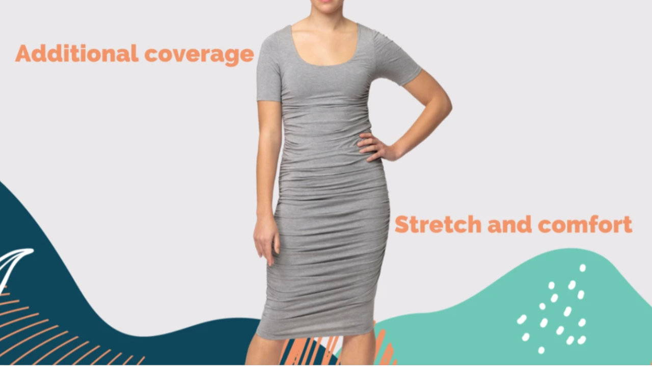 Bamboo Shaping Dress from Embodycon