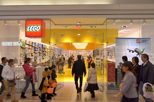 The LEGO store Roosevelt