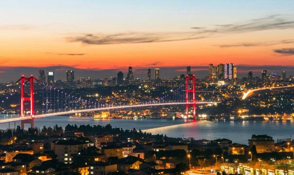 Автобусный тур по ночному Стамбулу