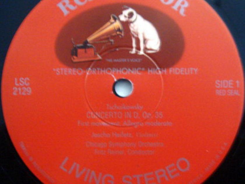 ★Audiophile 180g★ RCA-Classic Records /  - HEIFETZ-REINER, Tchaikovsky Violin Concerto, MINT(OOP)!