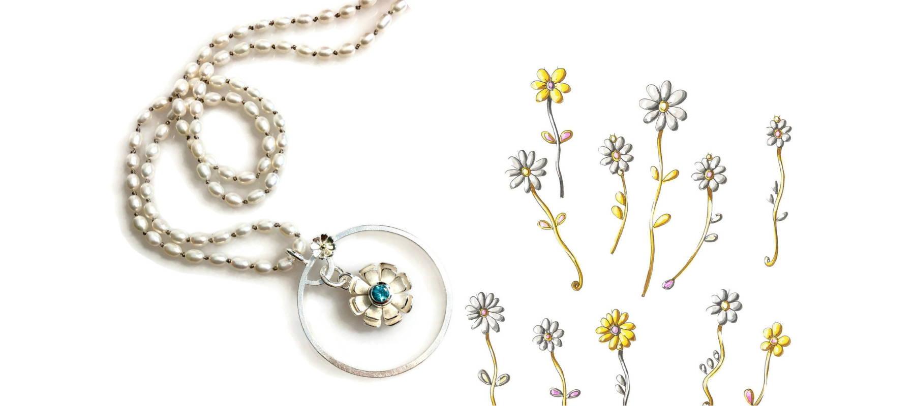Daisies | Jewellery Blog Banner | Sarah McAleer Jewellerysmith