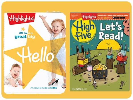 Highlights for Children Ages 0-6