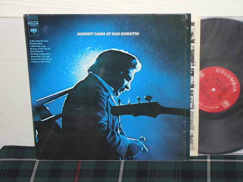 Johnny Cash At San Quentin - <360> 1st press still in shrink! Columbia CS 9827