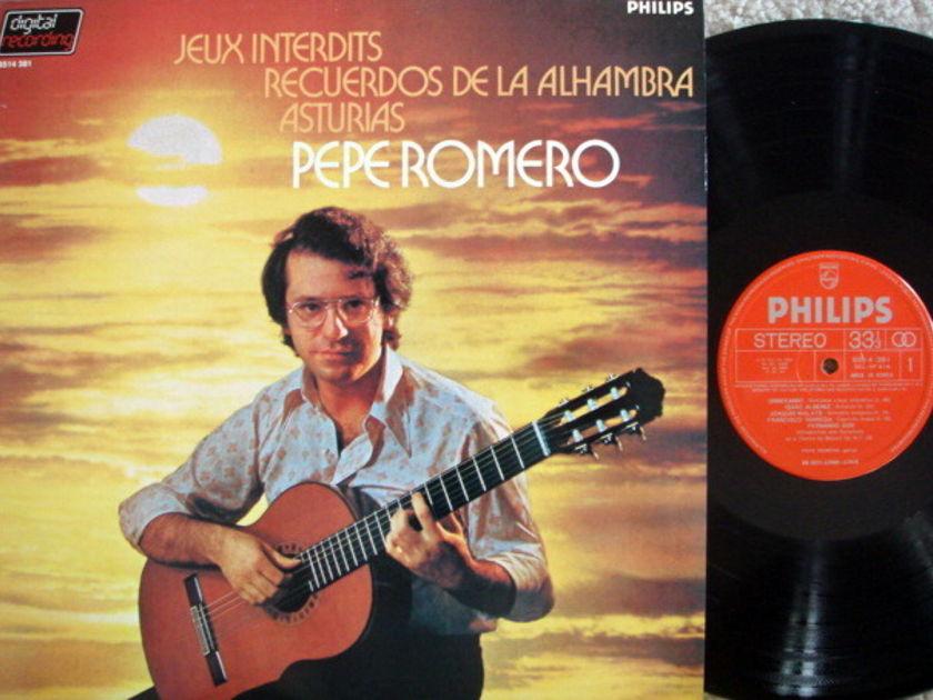 "Philips Digital / PEPE ROMERO, - Romance ""Jeux Interdits"", NM!"