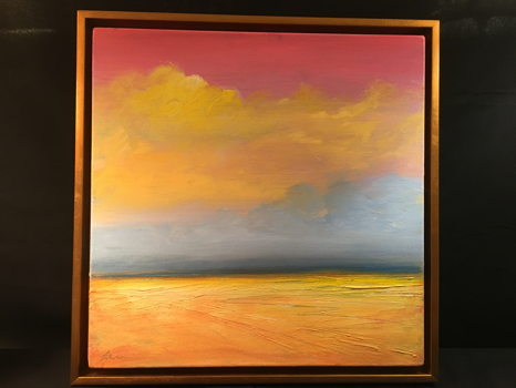Land and Sky painting from Patrick O'Boyle