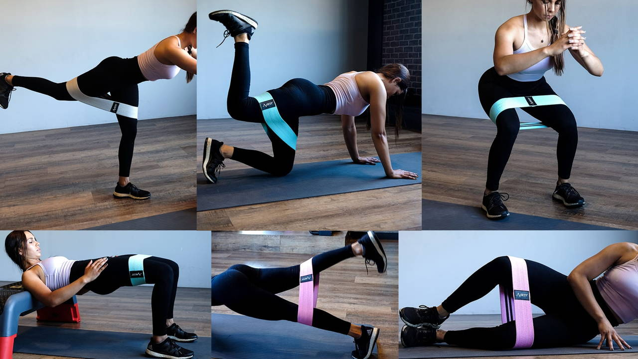 Resistance Booty Band Exercises