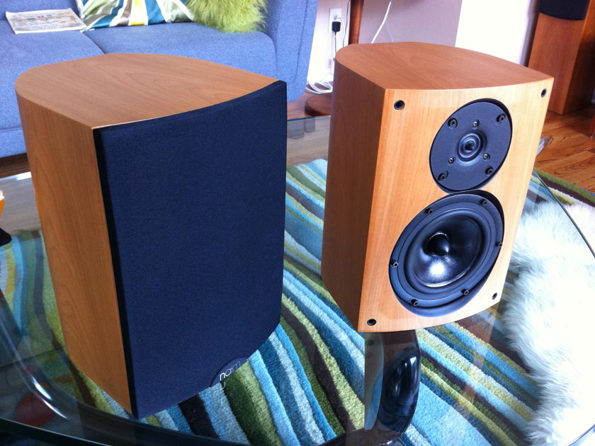 naim audio n-Sat bookshelf speakers (cherry)