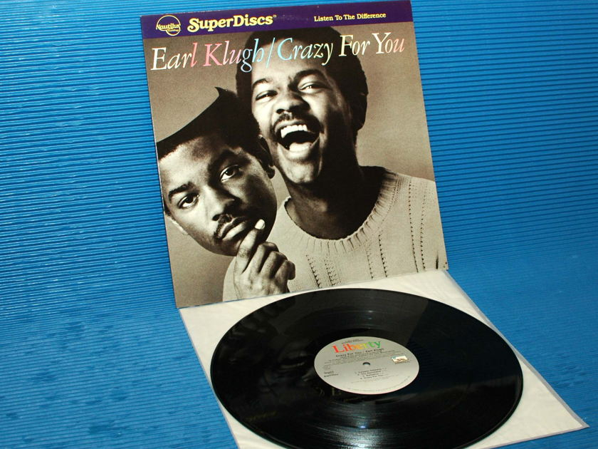 "EARL KLUGH  - ""Crazy For You"" -  Nautilus Super Disc 1982"