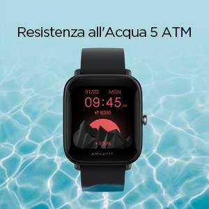 Amazfit Bip U Pro - Resistenza all'Acqua 5 ATM