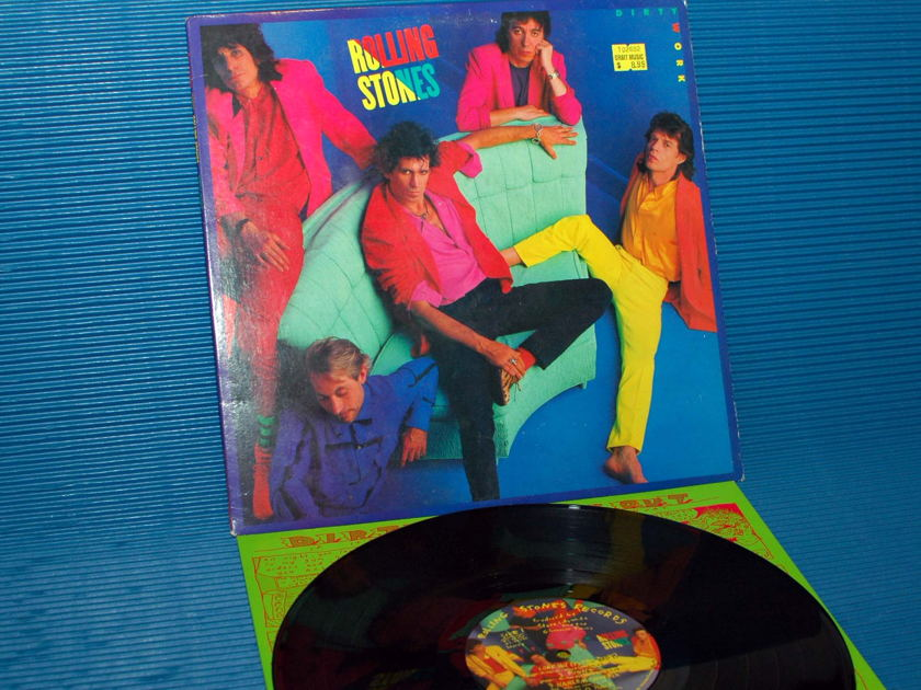 "THE ROLLING STONES - - ""Dirty Work"" -  Rolling Stones Records 1986"