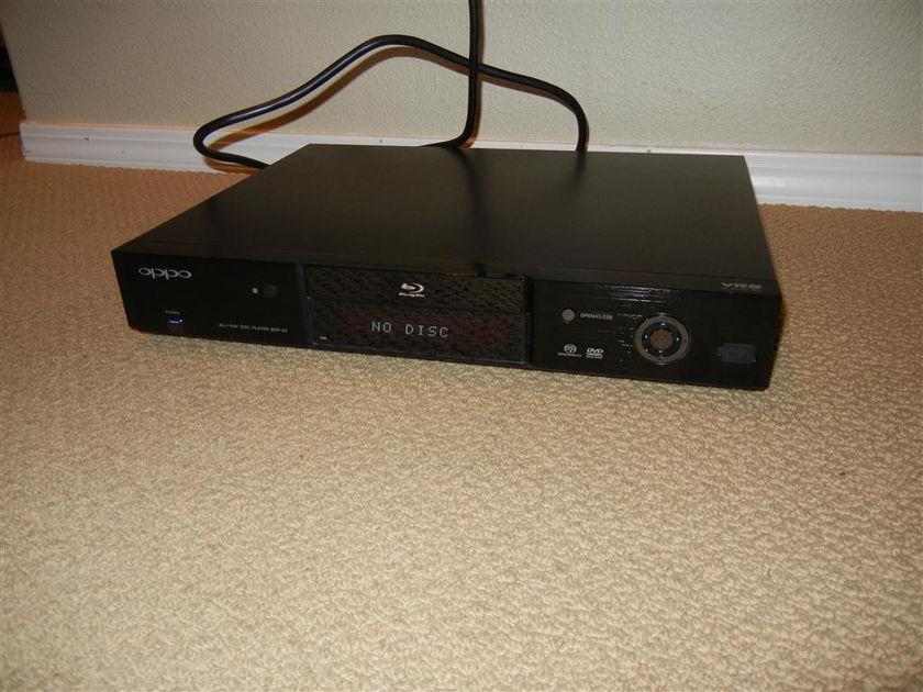 Oppo BDP83 BDP-83 Blu-ray Disc Player w/SACD & DVD-Audio