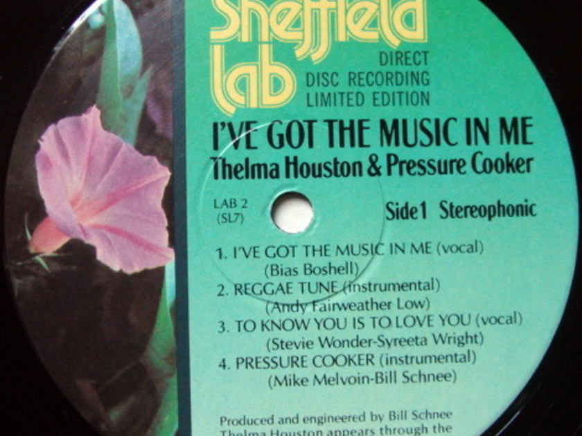 ★Audiophile★ Sheffield Lab / THELMA HOUSTON, - I've Got the Music in Me, NM!