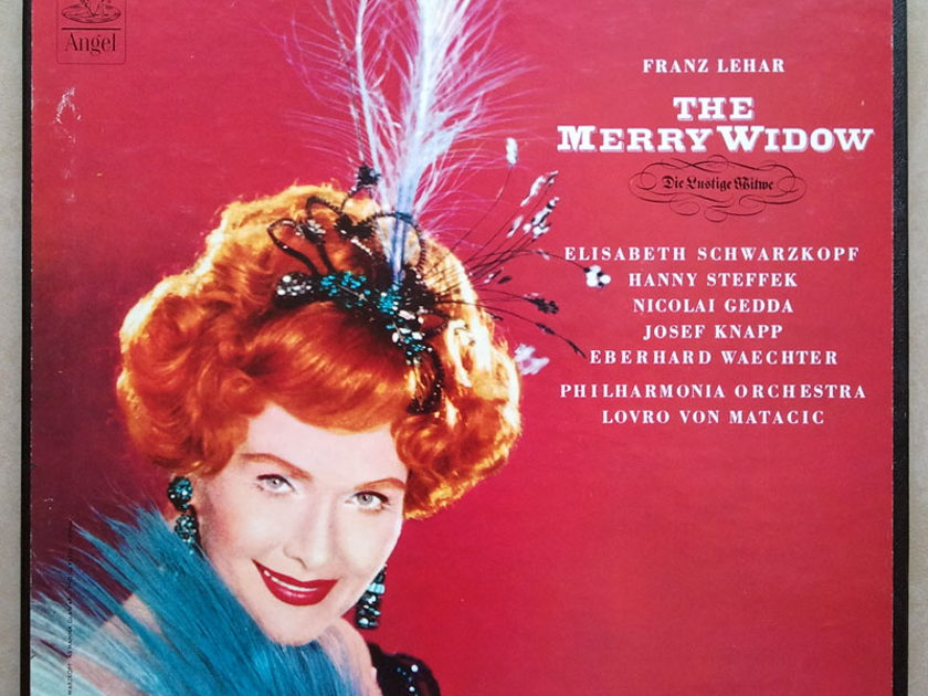 ANGEL   MATACIC/LEHAR - The Merry Widow / 2-LP / NM