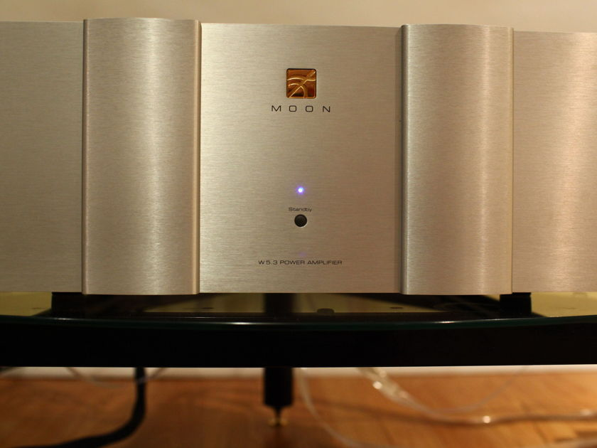SIMAUDIO W5.3 power amplifier in close mint condition