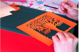 Learn the art of paper cutting