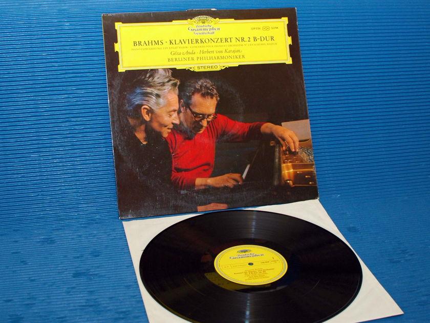 """BRAHMS/Von Karajan - - """"Piano Concerto No.2"""" - DGG 1968"""