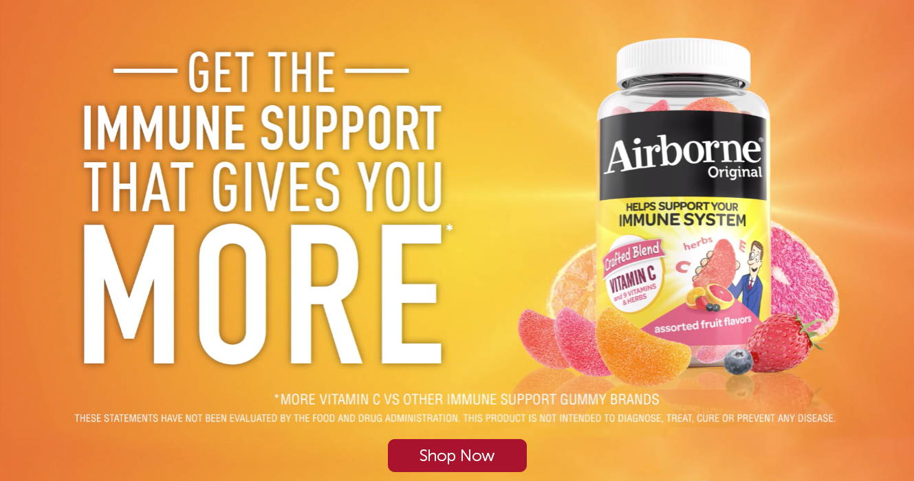Get The Immune Support That Gives You More *More Vitamin C vs Other Immune Support Gummy Brands