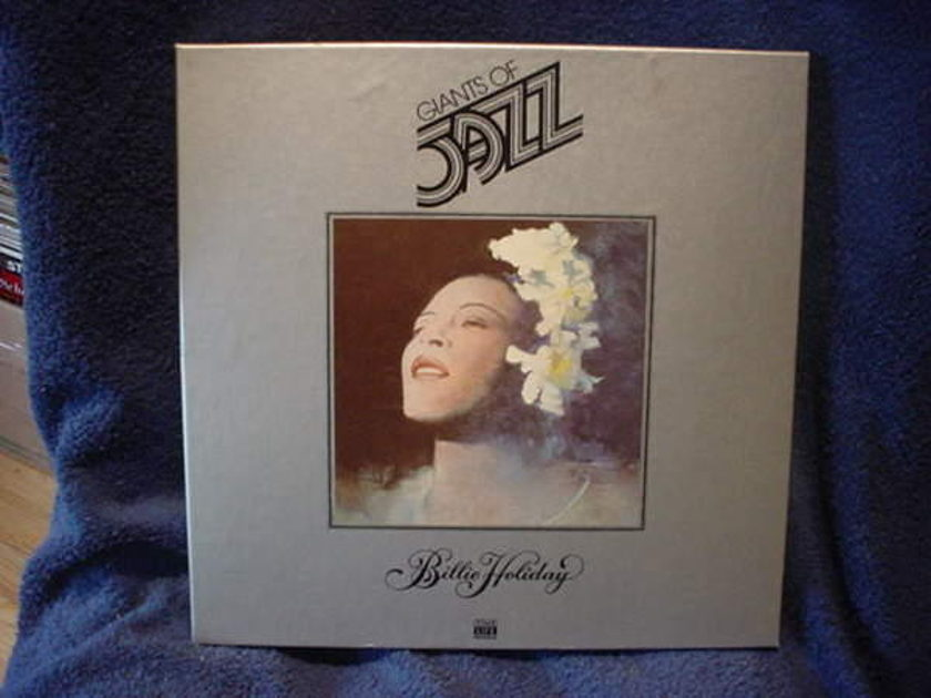 Billie Holiday - Giants of Jazz time life box set/50 page book