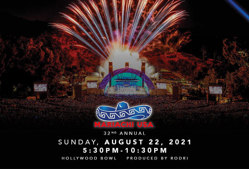 32nd Annual MARIACHI USA® with FIREWORKS! artwork
