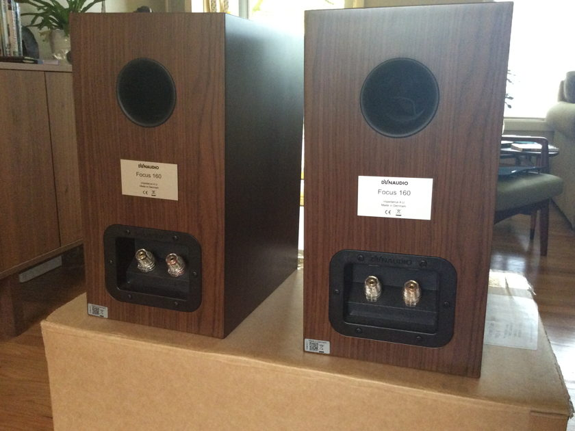Dynaudio Focus 160 Speakers (Walnut)