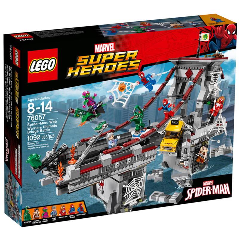 LEGO SPIDER-MAN: WEB WARRIORS ULTIMATE BRIDGE BATTLE