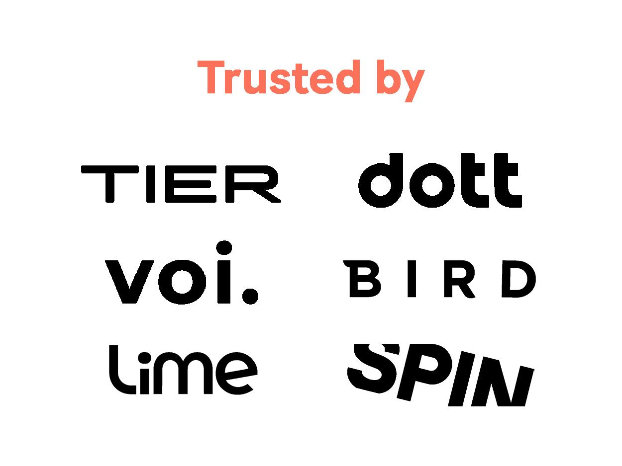 okai-trusted-by-okai-logos-spin-lime-voi-bird-tier-dott