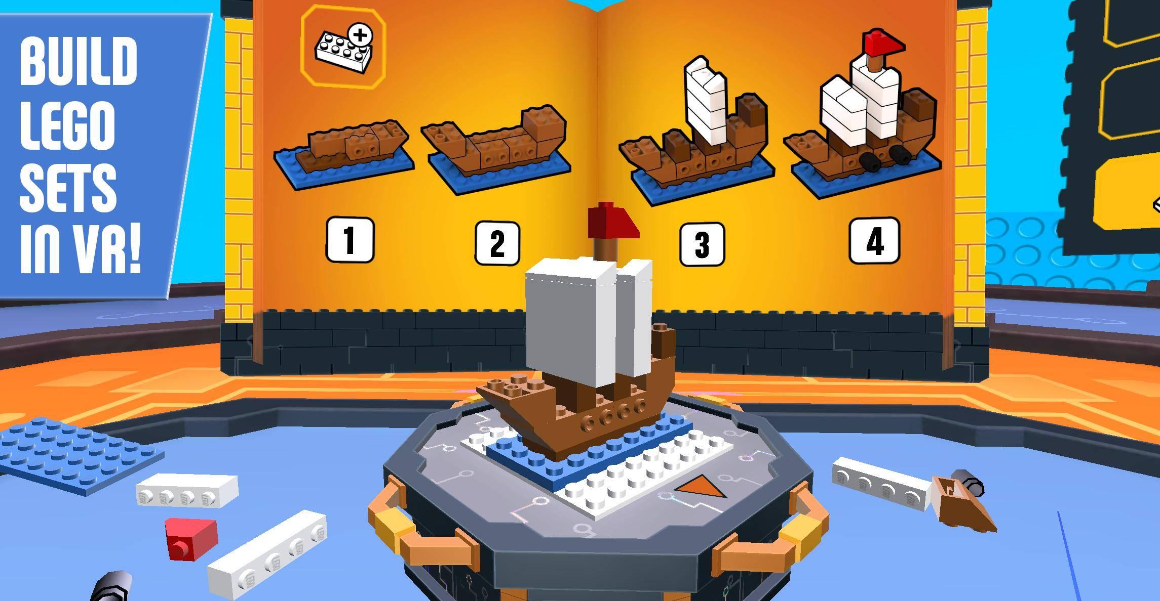 lego brickheadz in VR