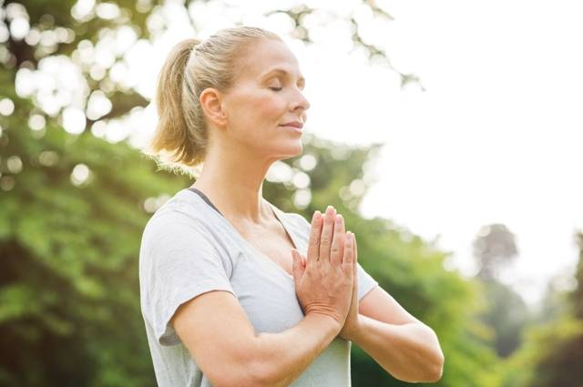 Deep breathing can provide a state of relaxation, important when coping with stress and anxiety